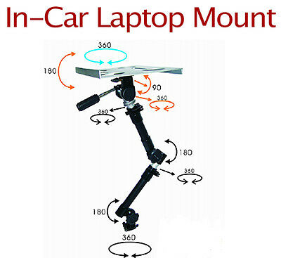 Car Truck SUV Vehicle GPS Computer Laptop Tablet e-book Mount Stand Table holder