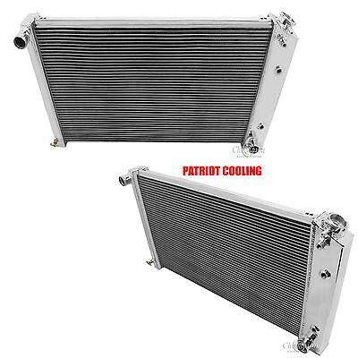 "1978-1983 Chevy Malibu CHAMPION 3 Row Aluminum Radiator /& 12/"" Dual Fans"