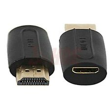 New HDMI Type A Male to Mini HDMI Type C Female Adapter PC Laptop Connector HDTV