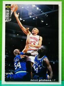 Grant-Hill-regular-card-1995-96-Upper-Deck-Collector-039-s-Choice-33