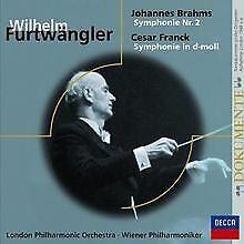 Sinfonie Nr.2/Sinfonie d-Moll von Furtwängler | CD | Zustand sehr gut