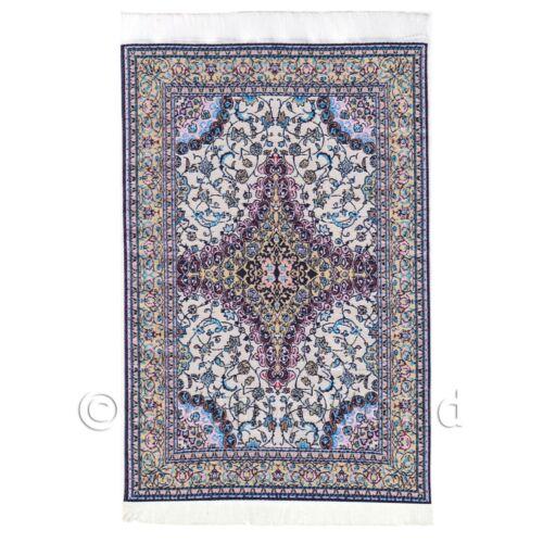 Casa De Muñecas medio alfombra//alfombra Rectangular siglo 17th 17nmr13