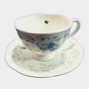 Lenox-Butterfly-Meadow-Cup-and-Saucer-Set-Ladybug-Grasshopper-by-Louise-Le-Luyer