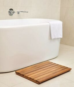 Non Slip Teak Spa Shower Floor Bath