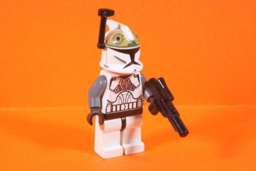 CLONE GUNNER sw0221 aus Set 8014 8039-049 Lego Star Wars Figur