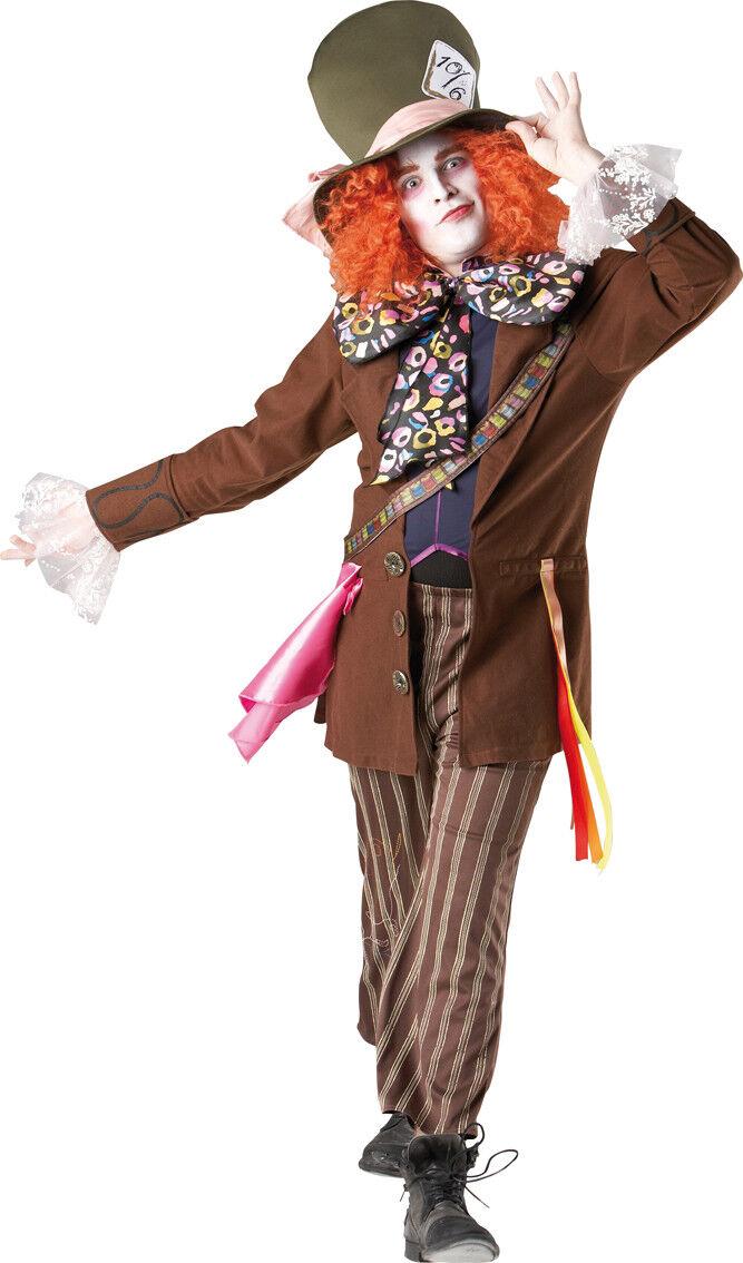 Karneval Karneval Karneval Herren Kostüm Hutmacher aus Alice im Wunderland ffcf95