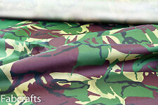 Hardwearing Camo Marine Canvas Breathable Waterproof fabric STRONG material 5G