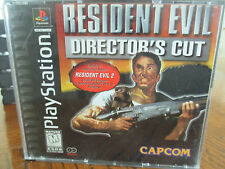 Resident Evil Director's Cut PlayStation 1 PS1 US Black Label W/ Demo Complete