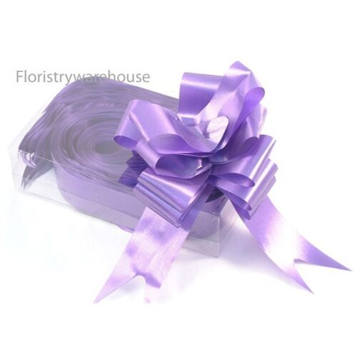 Florists Pull Bows by Oasis® 5cm Box of 20 Purple