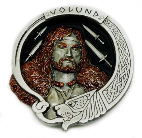 Volund Belt Buckle Norse Mythology Fantasy Themed Authentic Bulldog Buckle Co