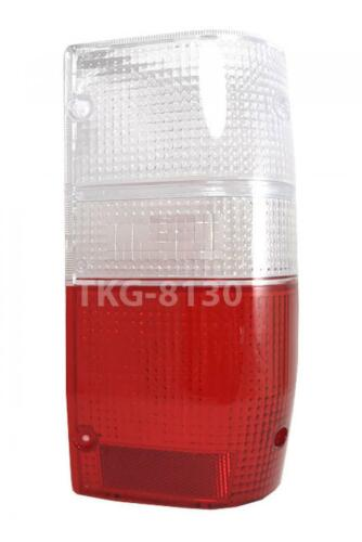 1 RH REAR TAIL LIGHT LENS CLEAR//RED FOR Mitsubishi Mighty Max L200 Triton 86-94