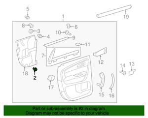 NOS Genuine GM Door Trim Panel Retainer Clip 22722860