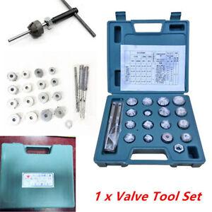 Universal Valve Seat Reamer Motorcycle Repair Displacement Cutter Tool Set