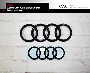Audi Q2 Original Ringe Set schwarz vorne und hinten im Set