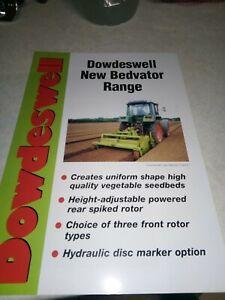 Complexé Dowdeswell New Bedvator Gamme Vente Brochure 4 Page-afficher Le Titre D'origine Soulager La Chaleur Et La Soif.