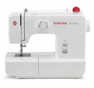 SINGER 1408 Macchina da Cucire Meccanica 14 Punti - Bianca