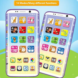 Baby-Bambini-Simulatore-Music-Phone-Touch-Screen-KID-Natale-apprendimento-educativo-Giocattolo