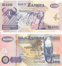 Sambia / ZAMBIA - 100 Kwacha 1992 UNC - Pick 38a