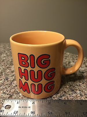 Big Hug Mug FTD Coffee Mug Cup Vintage Matthew McConaughey True Detective HTF