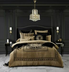 Davinci Massimo Quilt Cover Set Gold