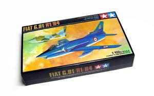 Tamiya-Aircraft-Model-1-100-Airplane-FLAT-G-91-R1-R4-Scale-Hobby-61610