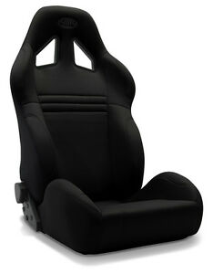BLACK SAAS KOMBAT SPORT SEAT