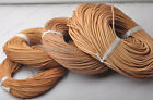 Natural color Genuine round Leather cord Cowhide Thread 1MM 1.5MM 2MM 3MM-6MM