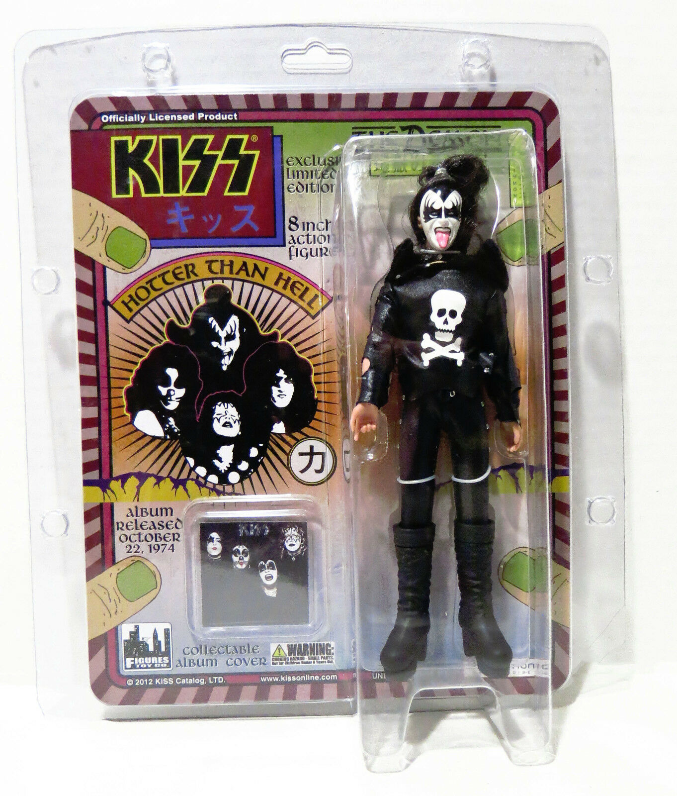 KISS THE DEMON HOTTER THAN HELL LIMITED 8
