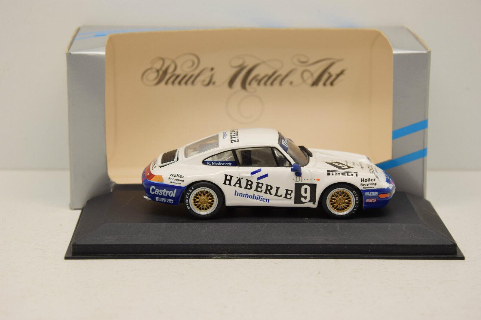 PORSCHE 911 ( 993 ) ADAC GT-CUP  9 1994 MINICHAMPS 1 43 ÉTAT NEUF EN BOITE
