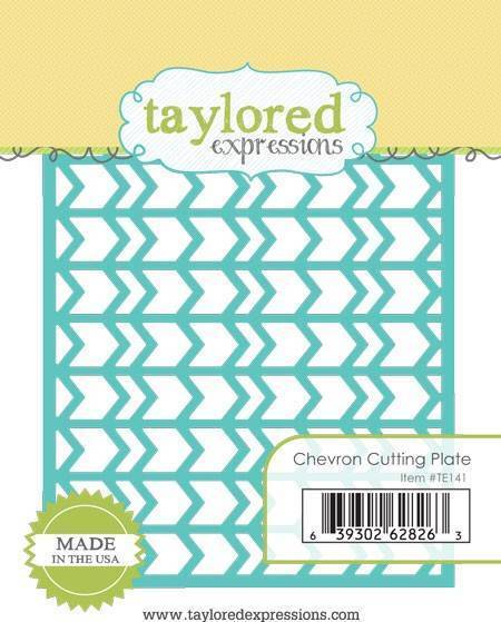 Taylored Expressions Cutting Plate Die ~  AMERICAN FLAG ~ Patriotic  ~TE350