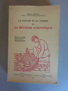 LA-NATURE-ET-LA-PORTEE-DE-LA-METHODE-SCIENTIFIQUE-Emile-Simard-Un-Laval-1958
