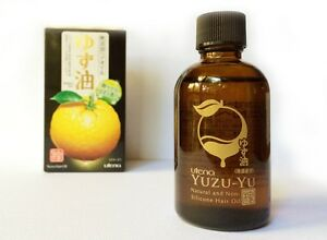 Yuzu Hair Oil Wonderful Citrus Scent Non Silicon All