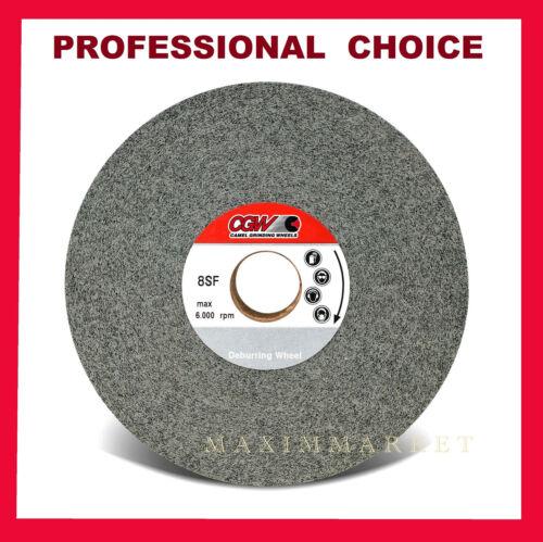 """CGW 6/"""" x 1//2/"""" x 1/"""" Silicon Carbide Convolute Deburring Wheel Various Choices"""