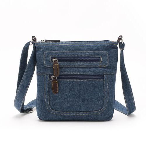 Fashion Women Messenger Handbag Denim Small Shoulder Bags Tote Purse Satchel