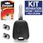 Coque-Reparation-Cle-Telecommande-pour-Plip-PEUGEOT-206-106-306-Pile-Switch miniature 1