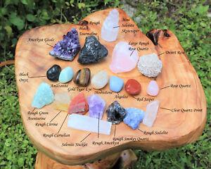 20-pcs-Beginners-Crystal-Kit-Chakra-Protection-Healing-Sets-Crystal-Gift
