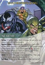 VENOM/DOC OCK/SCORPION Upper Deck Marvel Legendary SCHEME X-CUTIONER'S SONG
