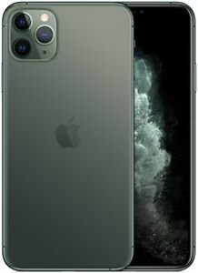 Apple-IPHONE-11-Pro-Max-256GB-Midnight-Vert-Italia-LTE-Nouveau-Smartphone-Ios-13