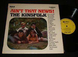 KINSFOLK-AUSSIE-1960s-FOLK-LP-AIN-039-T-THAT-NEWS-Bob-Dylan-Donovan