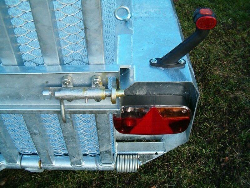 Maskintrailer, HENRA MG353015A, lastevne (kg): 2740