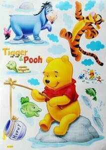 Details zu Wandtattoo Wandsticker XXL Winnie Pooh Baby Wandaufkleber  Kinderzimmer Disney