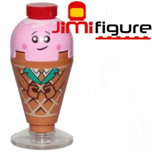 NEW-LEGO-Minifigure-Ice-Cream-Cone-The-Movie-2-70838-Genuine-Queen-Watevras