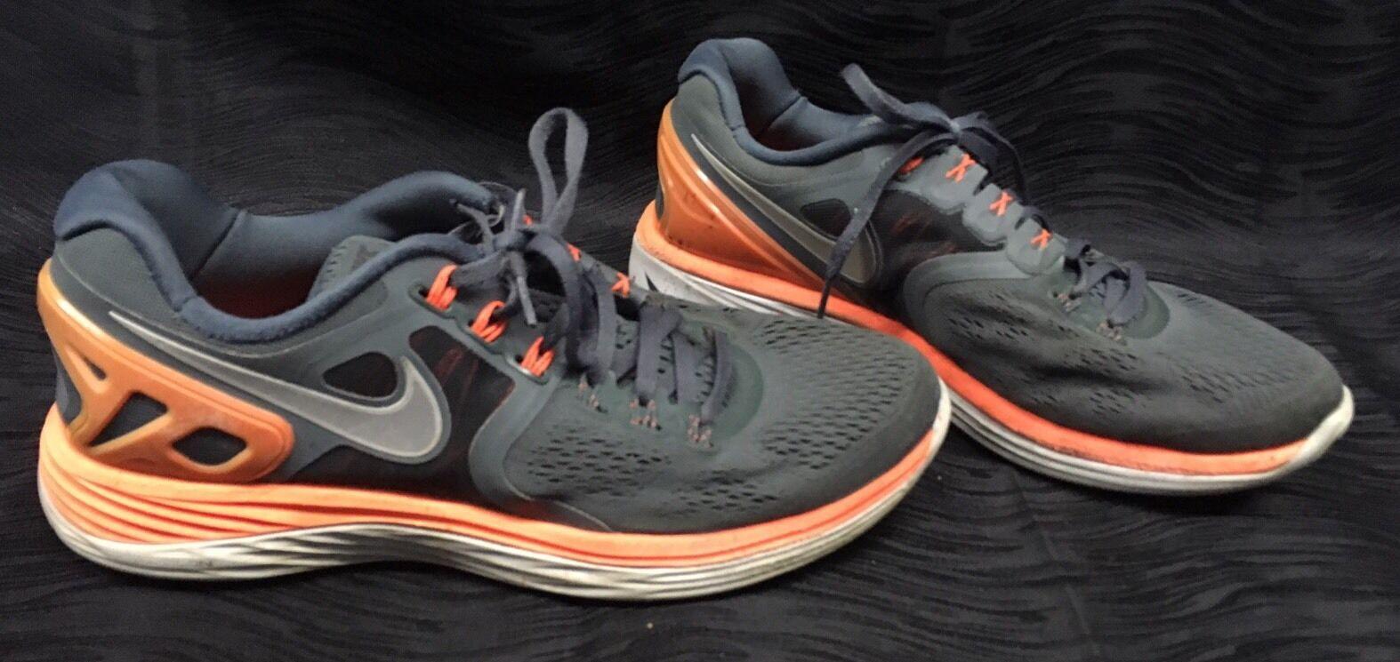 Nike lunareclipse 4 in scarpe da uomo taglia grigio arancio 629682-011