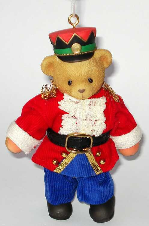 Cherished Teddies  - NUTCRACKER MARIONETTE MARIONETTE MARIONETTE - Hanging Ornament - 729256 f2fff9