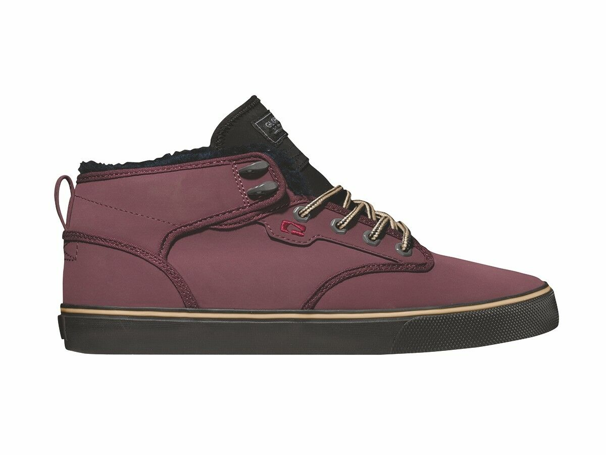 Globe High Sneaker Ankle Shoe Lace Up Motley Mid Purple Padded