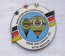 AIR-LEBNIS.de  / WARSTEINER BALLOONING TEAM  ... Bier-Ballon-Pin (125e)