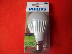 New Philips MyVision B22 Bayonet Fit 9W 470lm LED Light Bulb 104 - <span itemprop=availableAtOrFrom>Stockport, United Kingdom</span> - New Philips MyVision B22 Bayonet Fit 9W 470lm LED Light Bulb 104 - Stockport, United Kingdom