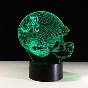 Alabama Crimson Tide Nick Saban Collectible Home Decor Light Lamp Gift Souvenir Ebay