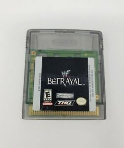 WF Betrayal (Nintendo Game Goy Color) GBC Authentic Tested