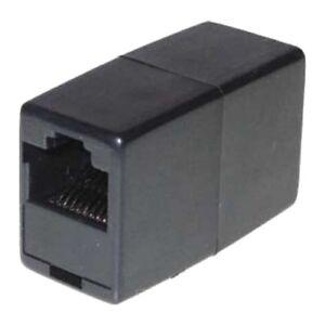 ISDN Adapter, RJ45 Buchse - RJ45 Buchse, Telefon Modular Verbinder Kabelkupplung